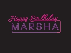 Happy Birthday Marsha!